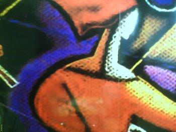 Mantıs'ın duvarındaki baskıdan bir ayrıntı