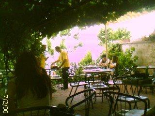 Yeniköy Kahvesi'nden manzara